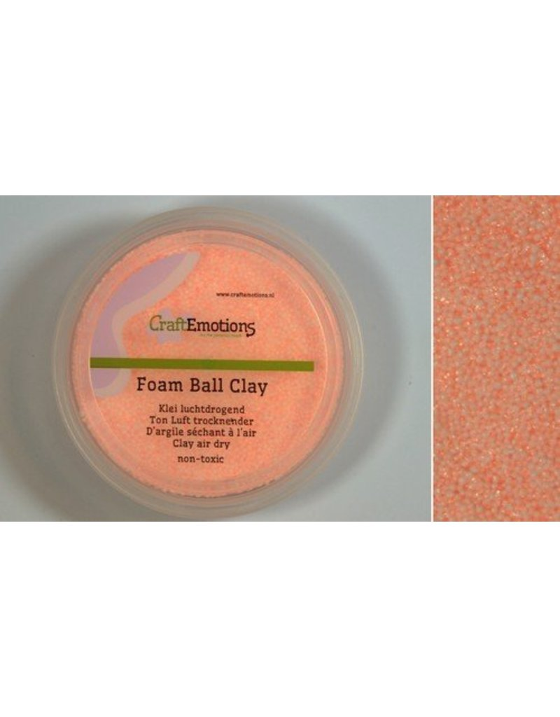Foam ball clay huidkleur