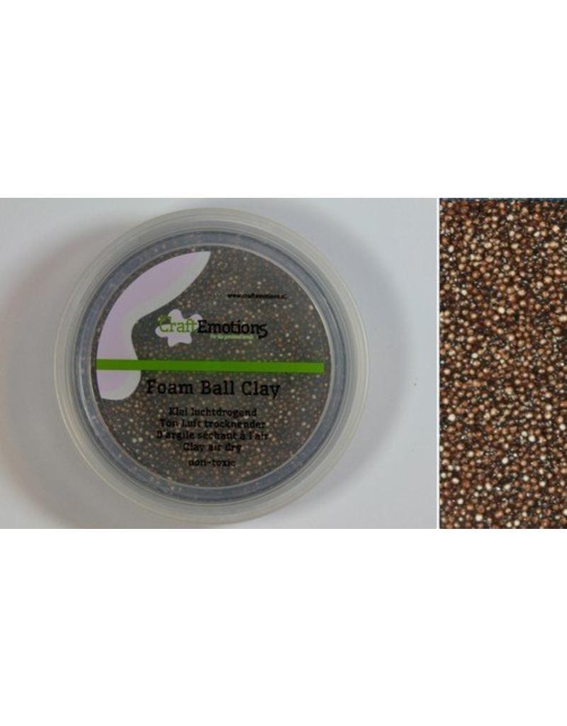 Foam ball clay bruin