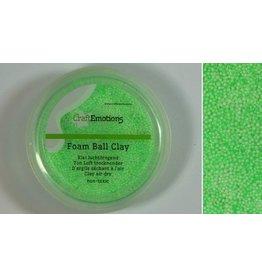 Foam ball clay lichtgroen