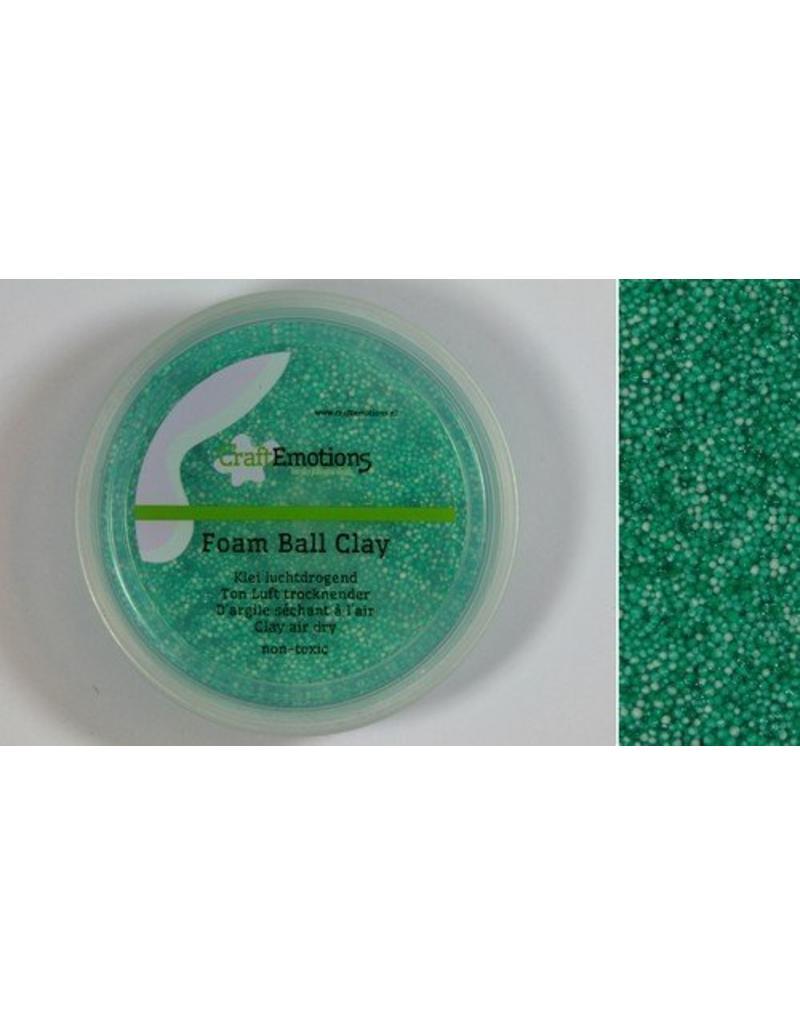 Foam ball clay donkergroen