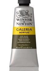 Winsor en Newton Galeria acrylverf Ivory Black