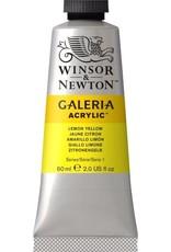 Winsor en Newton Galeria acrylverf Lemon Yellow