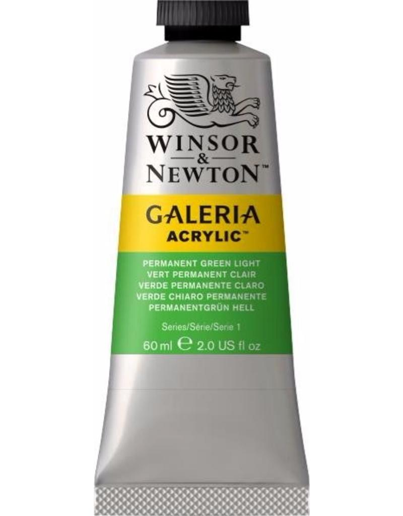 Winsor en Newton Galeria acrylverf Permanent Green Light