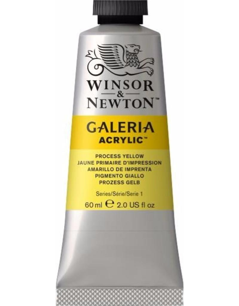 Winsor en Newton Galeria acrylverf Process Yellow