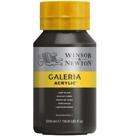 Winsor en Newton Galeria acrylverf Lamp Black