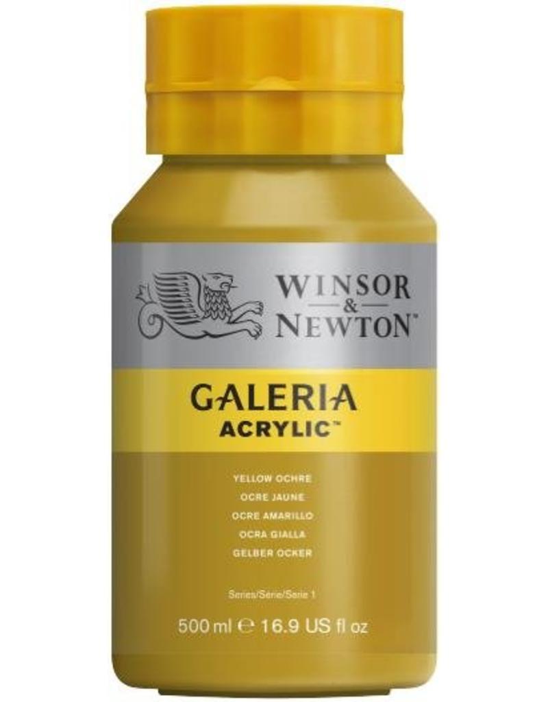 Winsor en Newton Galeria acrylverf Yellow Ochre
