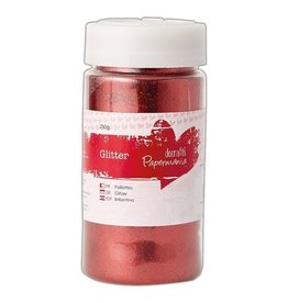 Docrafts Glitter Rood