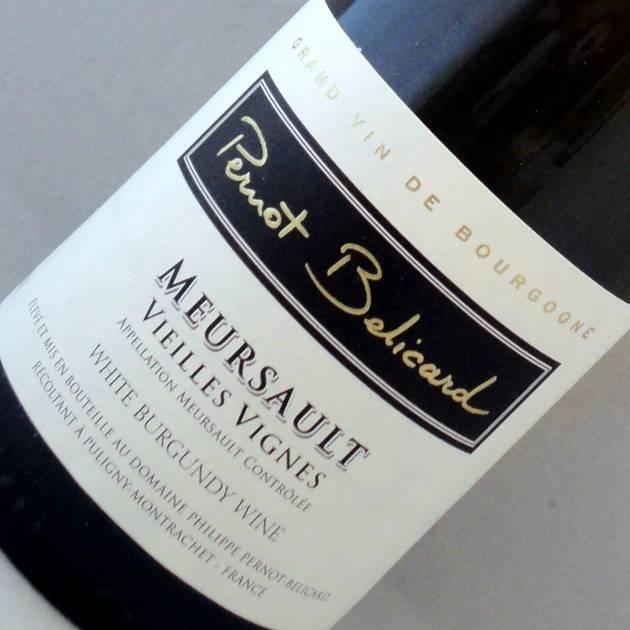 Meursault vieilles vignes - Domaine Pernot Belicard