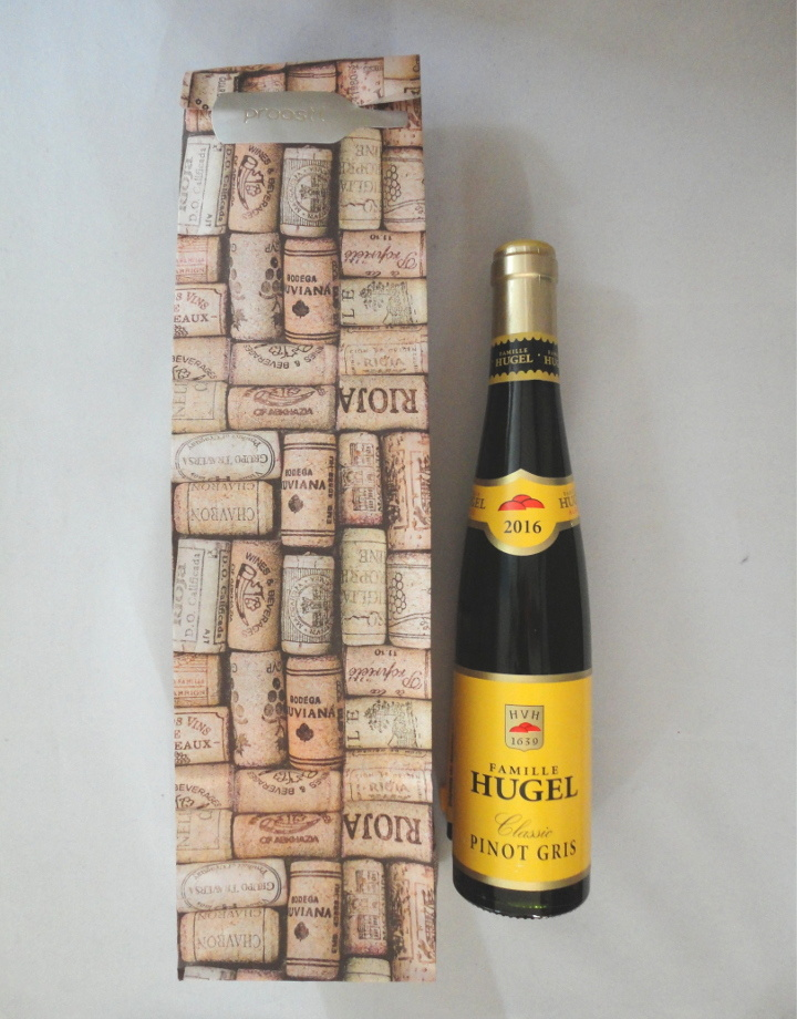 Cadeauzak voor 1 flesje wijn
