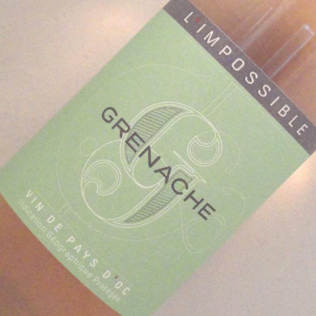 Vin de Pays d'Oc Grenache Rosé – L'Impossible