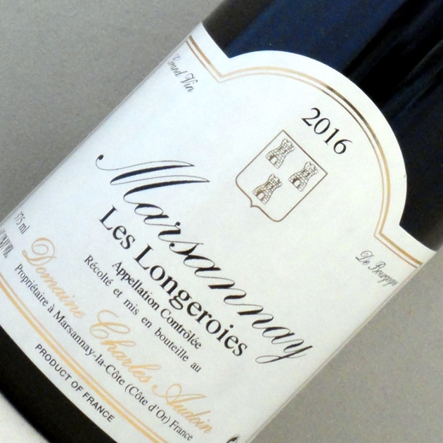 Marsannay Les Longeroies - Domaine Charles Audoin