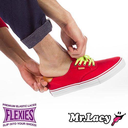 MR LACY Mr. Lacy Flexies 90cm Black