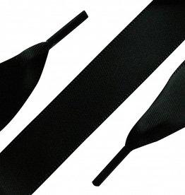 ShoeSupply.eu Veters Satijn Zwart 120 cm