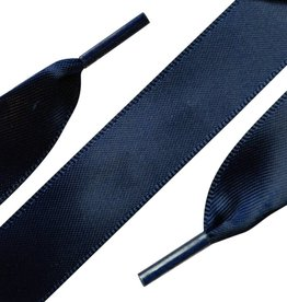 ShoeSupply.eu Veters Satijn Blauw 120 cm