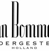 Van Bommel Wax SG Bommel veters 80 cm plat donkerblauw