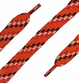 ShoeSupply.eu Plat 180 cm - Sneaker veter Oranje - rood_wit_blauw
