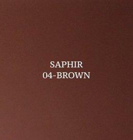04 Saphir Crème Surfine Bruin - schoenpoets