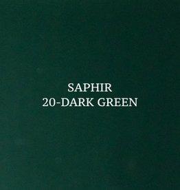 20 Saphir Crème Surfine Donkergroen - schoenpoets
