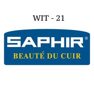 Saphir Crème Surfine Wit - schoenpoets