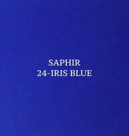 25 Saphir Crème Surfine Irisblauw - schoenpoets