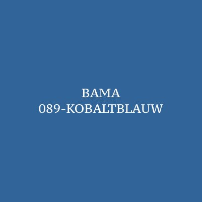 Bama Schoensmeer Kobaltblauw 089