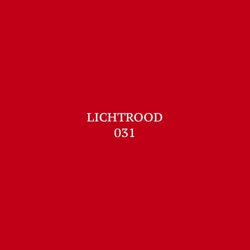 Colour Cream Lichtrood 031