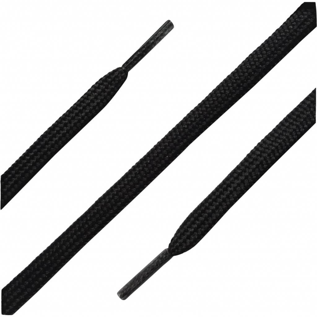 120cm smalle voetbalschoen veters zwart