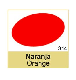 314 TRG Oranje Schoenverf
