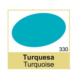 330 TRG Turquoise Schoenverf