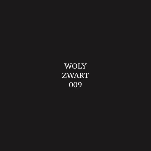 Woly Zwart 009 Schoensmeer