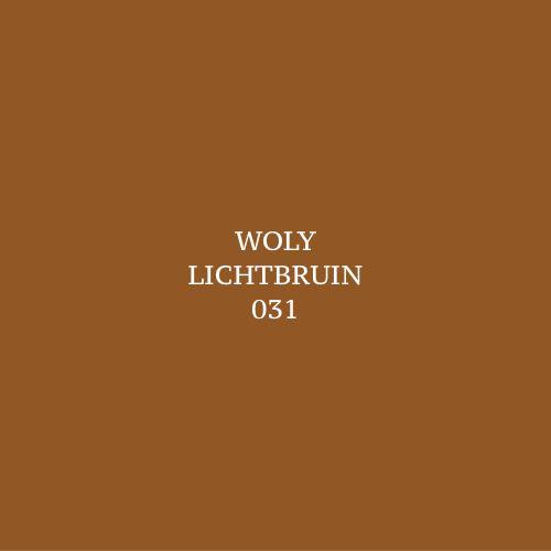 Woly Lichtbruin 031 Schoensmeer