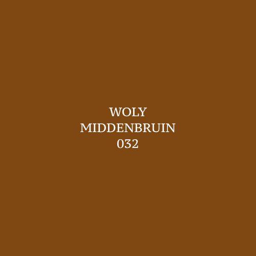 Woly Middenbruin 032 Schoensmeer