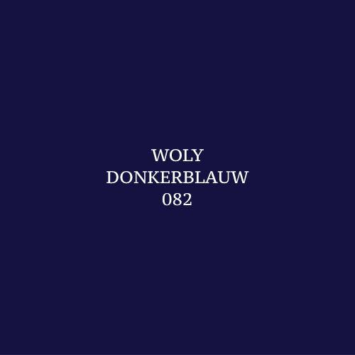 Woly Donkerblauw 082 Schoensmeer