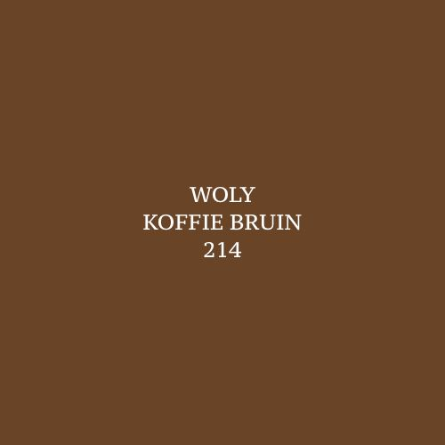 Woly Coffee 214 Schoensmeer