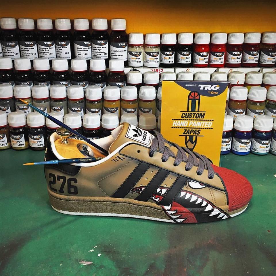 TRG easy dye schoenverf - 801 FLUORESCENT YELLOW