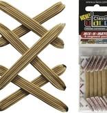 U-LACE VETERS U-Lace veters Mix-n-Match Metallic Gold