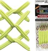 U-LACE VETERS U-Lace veters Mix-n-Match Neon Geel