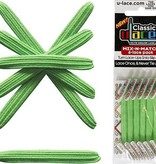 U-LACE VETERS U-Lace veters Mix-n-Match Neon Groen