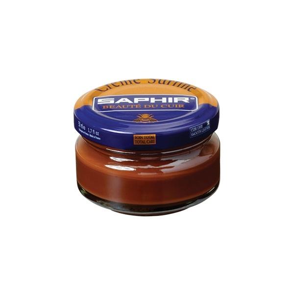 Saphir Crème Surfine Medium Brown - schoenpoets