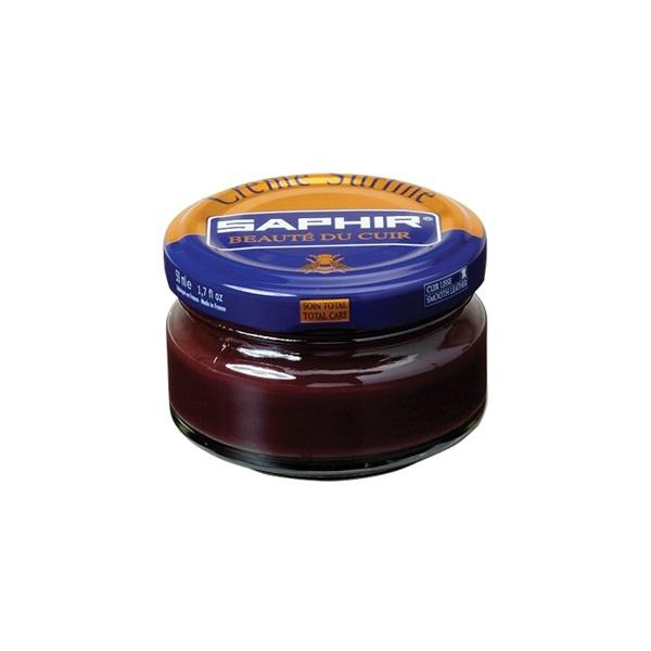Saphir Crème Surfine Plum - schoenpoets