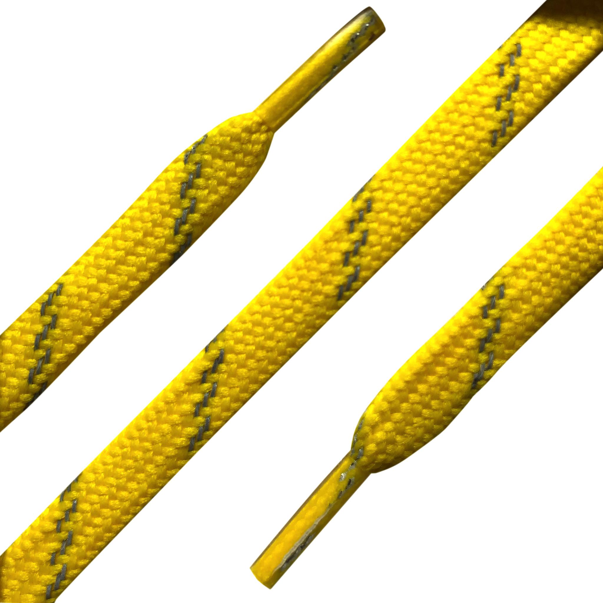 SL Line Reflecterende Veters 120cm geel