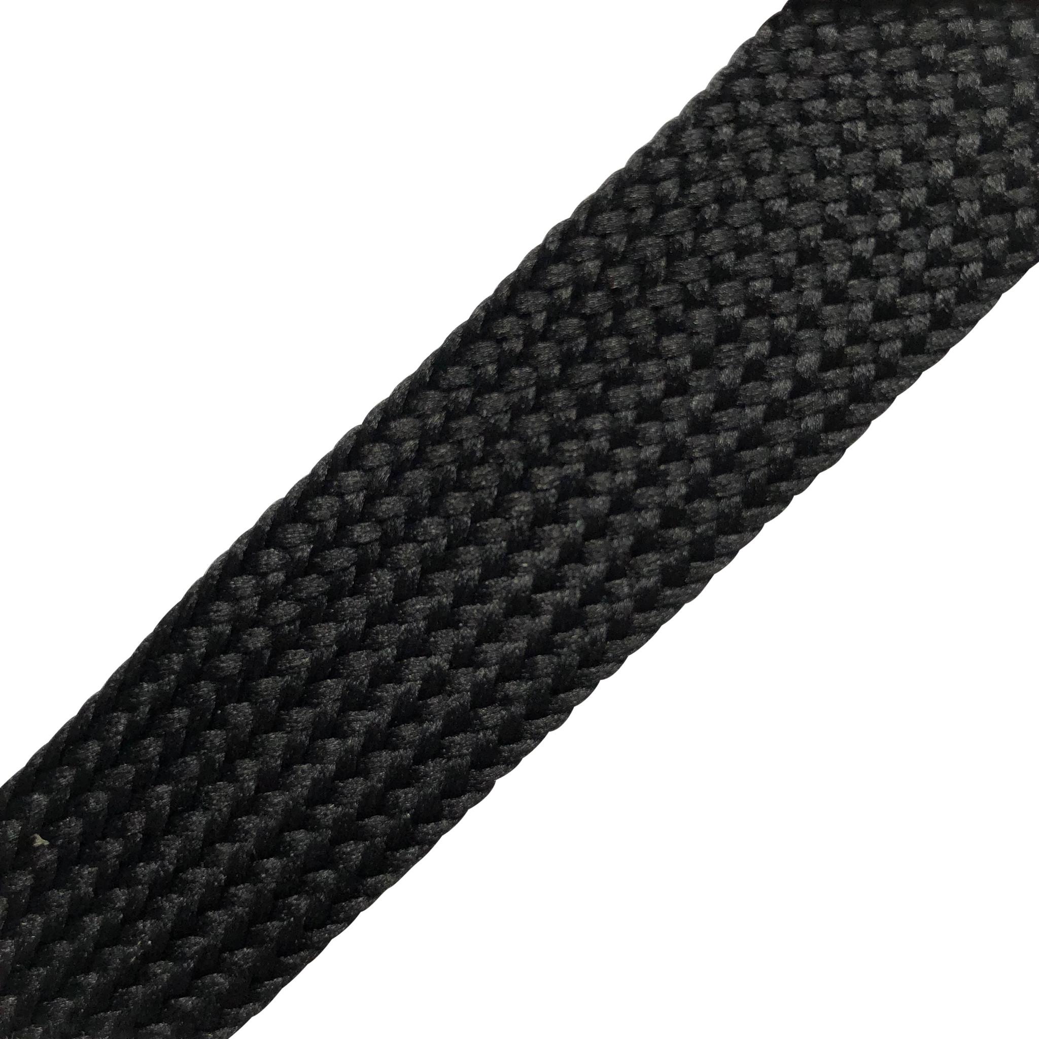 SL Line Fatlaces Brede Veters 100cm zwart