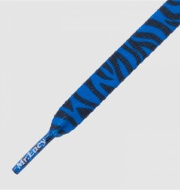 MR LACY Mr Lacy Printies - zebra royal blue