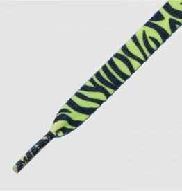 Mr Lacy Mr Lacy Printies - zebra neon lime yellow
