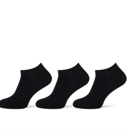 Pierre Cardin Pierre Cardin heren sneakersokken - 3 paar - uni zwart