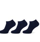 Pierre Cardin Pierre Cardin heren sneakersokken - 3 paar - uni blauw