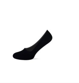 Teckel Teckel onzichtbare sneaker footies - zwart