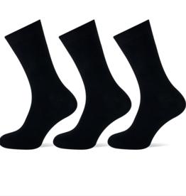 Teckel Teckel Dames sok uni - zwart - 3 paar