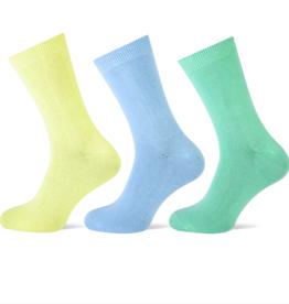 Teckel Teckel Dames sok uni - kleur assorti - 3 paar