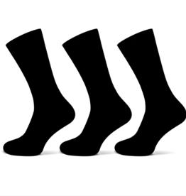 Teckel Teckel Heren sok uni - zwart - 3 paar